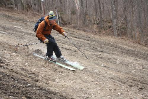 end of ski season